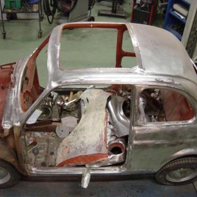 Restauration Fiat 500 L