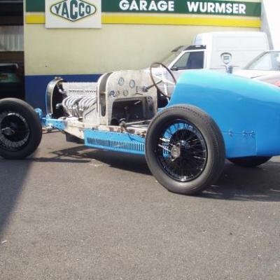 Restauration Bugatti Type 35